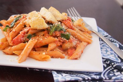 Penne Rosa with Parmesan, Small