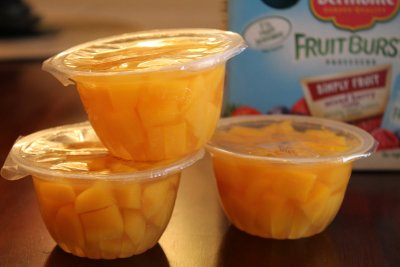Kids Pineapple Fruit Cup