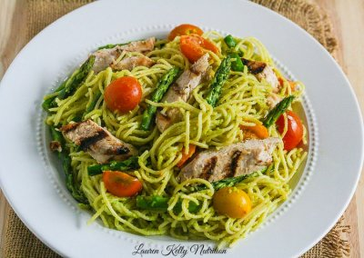 Kids Spaghetti  with Grilled Sliced Chicken