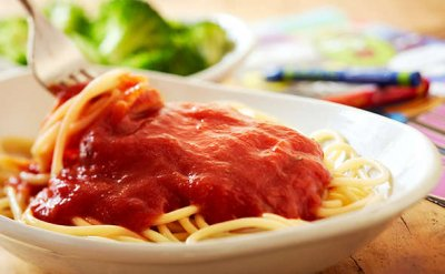 Kids Pasta  with Meatball, Tomato Sauce