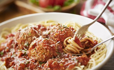 Kids Spaghetti with Meatball
