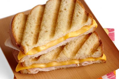 Kids Cheese Panini  with Shoestring Fries