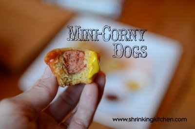 Mini Corn Dogs-kids