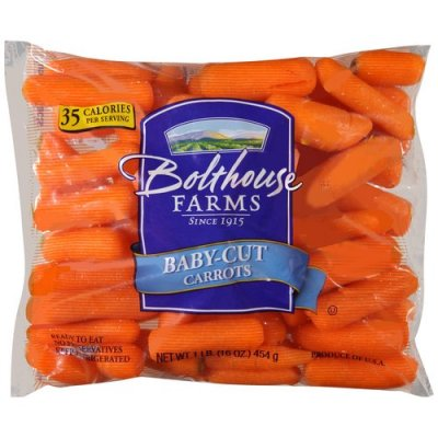 Carrots, Baby Cut, Fresh