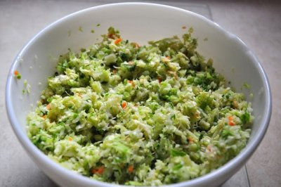 Cole Slaw, Green Cabbage & Carrots