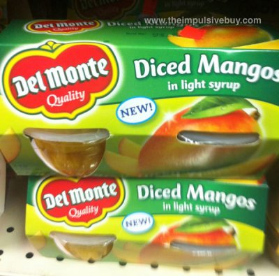 Diced Mangos in Light Syrup