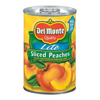 Lite Yellow Cling Peach Slices In Extra Light Syrup