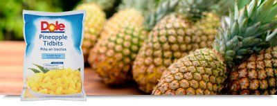 Pineapple, Tidbits For Pizza In Light Syrup Foodservice