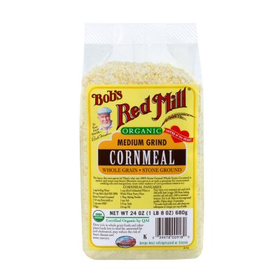 Cornmeal, Stone Ground 100% Whole Grain, Medium Grind