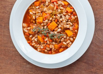 Hearty Veggie Meal, Butternut Squash Carrot & Chickpea