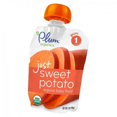 Just Sweet Potato Baby Food