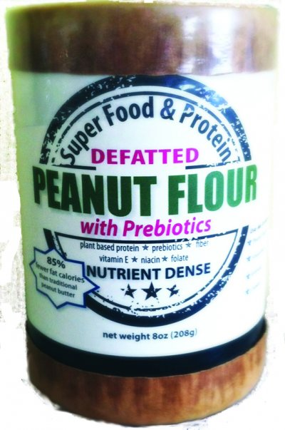 Peanut flour, low fat