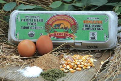 Organic Cage Free Brown Eggs