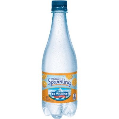 Sparkling Natural Spring Water, Mandarin Orange Essence