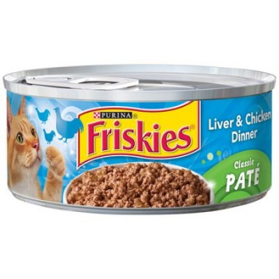 Cat Food, Chicken & Liver Dinner