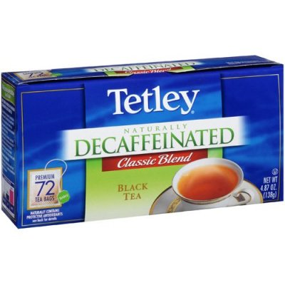 Tea, Black, Naturally Decaffeinated, Classic Blend