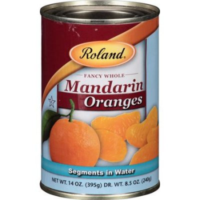 Mandarin Oranges Whole Segments packed In Water
