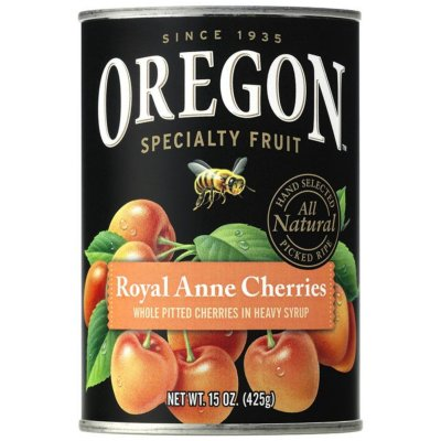 Royal Anne Cherries, Pitted, Light Sweet, in Heavy Syrup