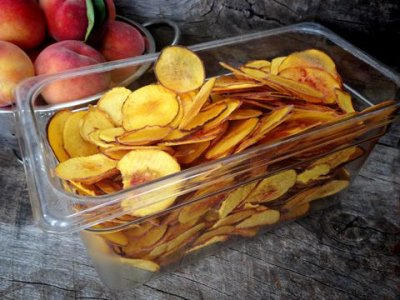 Sliced Peaches, Harvest Spice
