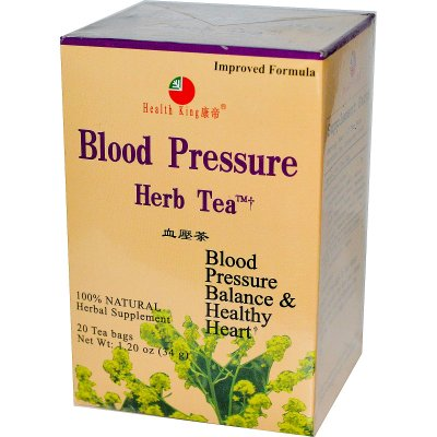 Herbal Tea, Blood Pressure