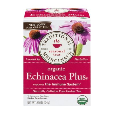 Seasonal Teas, Organic Echinacea Plus Supports The Immune System