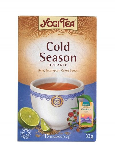Organic Tea, Cold Season,
