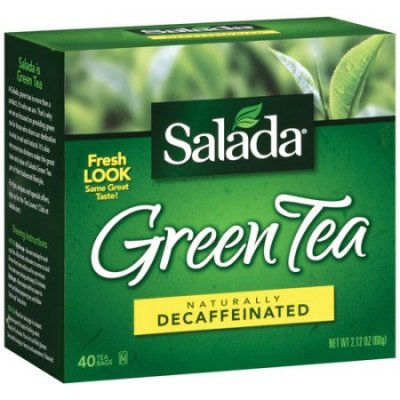 Tea Bags, Green Tea Decaffeinated