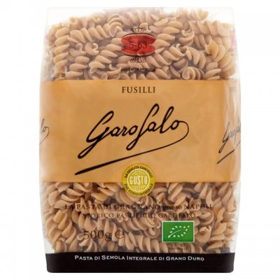 Fusilli, 100% Whole Wheat