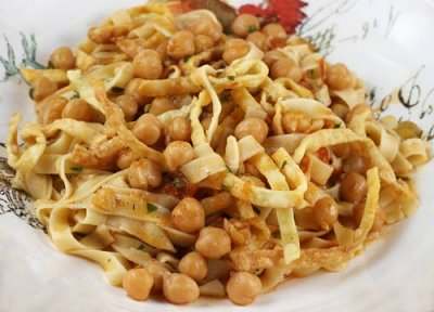 Pasta Made From Chickpeas