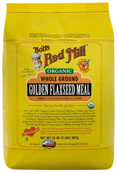 Flaxseed Meal, Golden, 100% Whole Ground