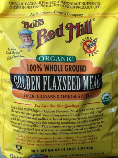 Flaxseed Meal, Golden, Whole Ground