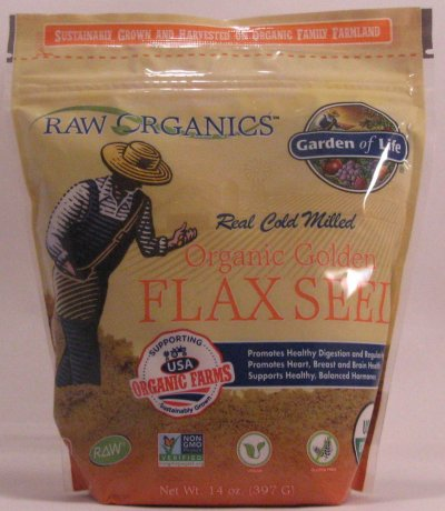 Organic Cold Milled Ground Golden Flax Seed