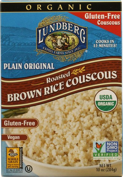 Organic Couscous, Roasted Brown Rice, Original