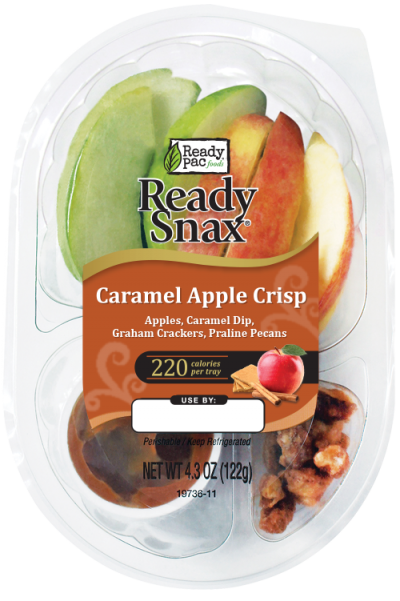 Apple & Cheese with Caramel Dip, Snack Pac