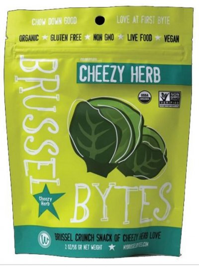 Brussel Bytes, Chili Pumpkin Seed Crunch