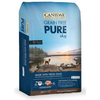 Grain Free Pure Sky, Made With Fresh Duck