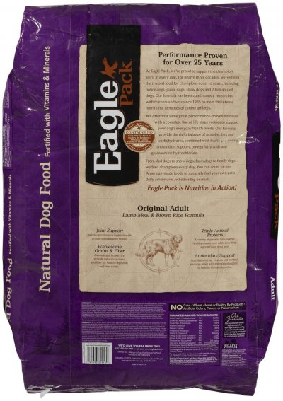 Life Stages, Lamb & Rice Formula, Dog Food