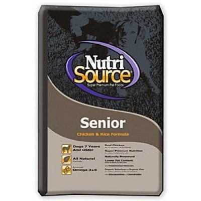 Senior, Chicken & Rice Formula