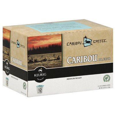 Caribou Coffee, K-Cups, Coffee, Caribou Blend, Medium Roast