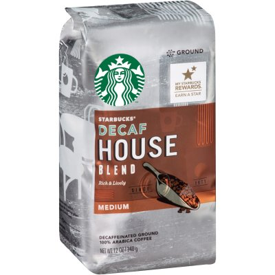 Coffee, Ground, Latin America, House Blend, Medium
