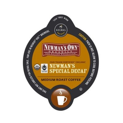 K-Cups, Coffee, Newman's Special Decaf, Medium Roast