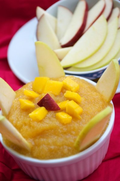 Apple Mango Applesauce