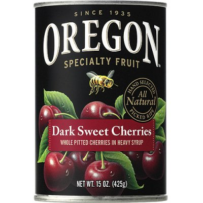 Bing Cherries, Pitted, Dark Sweet, in Heavy Syrup