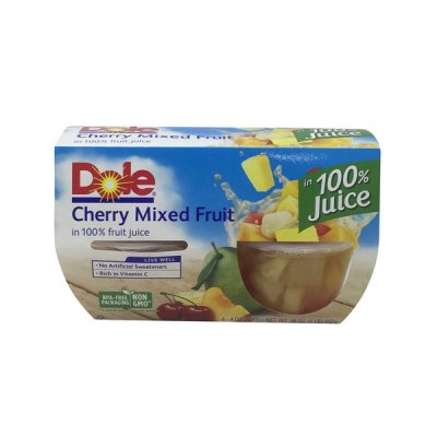 Chunky Mixed Fruit - 100% Juice