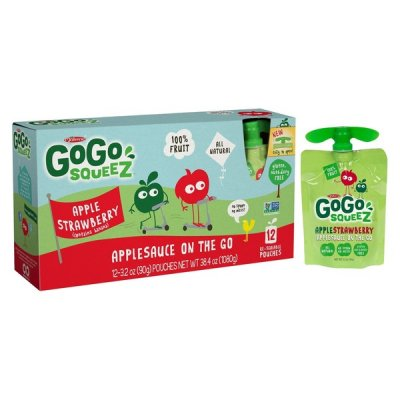 GoGo Squeez, Apple Sauce On The Go