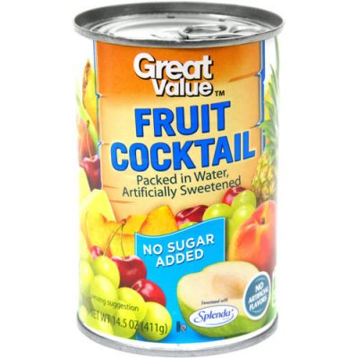 No Sugar Added Fruit Cocktail