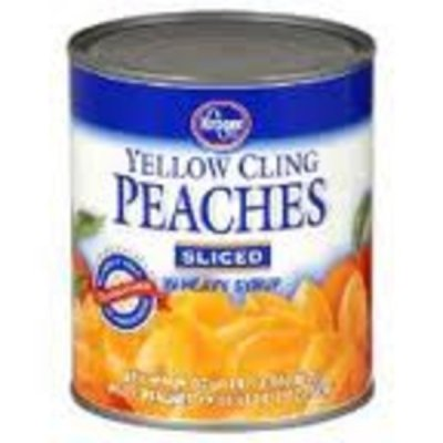Yellow Cling Peach Slices in Heavy Syrup