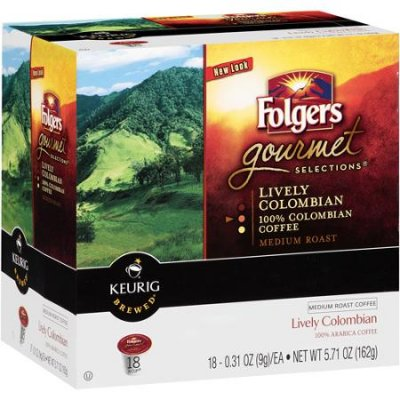 Gourmet Selections, Lively Colombian Medium Roast Coffee