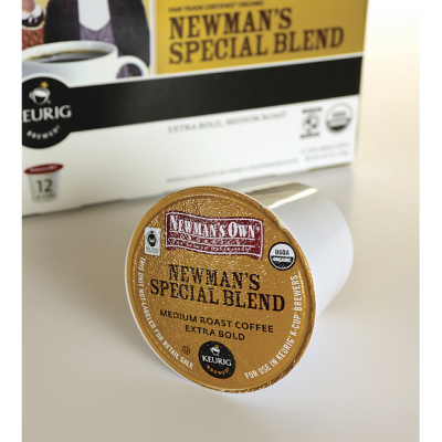 K-Cups, Newman's Special Blend, Organic
