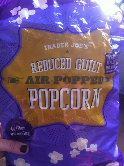 Reduced Guilt Air Popped Popcorn